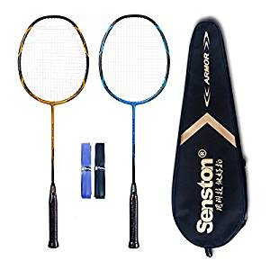 best badminton racket set