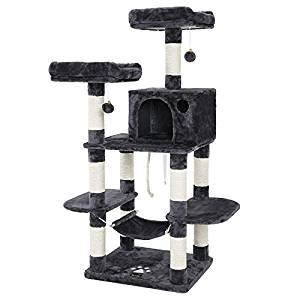 "SONGMICS 59"" Multi-Level Cat Tree"