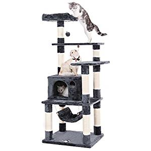 Top 10 Best Cat Tree Tower Reviews in 2020- Buyers' Guide