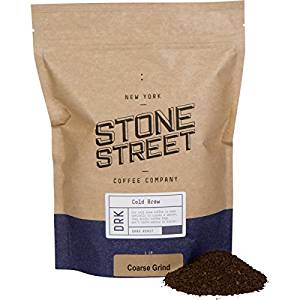 Stone Street Coffee Cold-Brew Colombian Origin Coarsely Ground Coffee