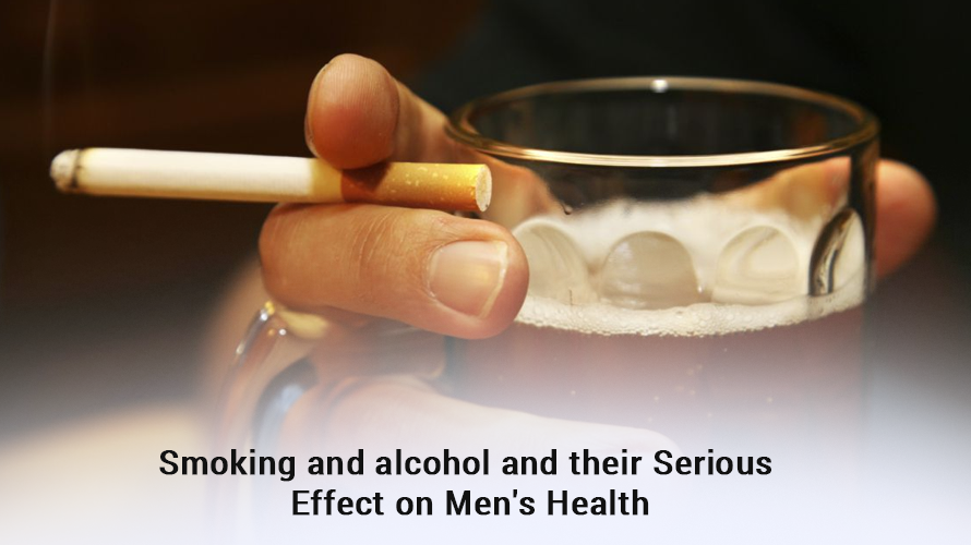 Smoking and alcohol and their effects on men's health