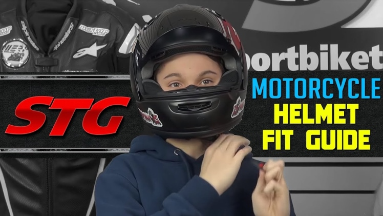 How To Find the Right Size Motorcycle Helmet