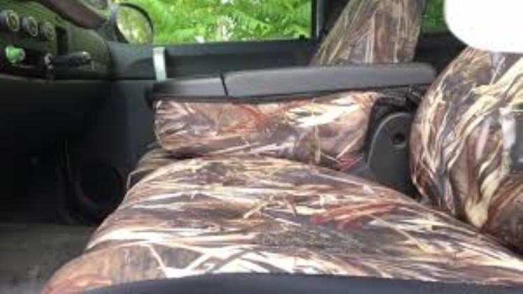Saddleman Custom Seat Covers: Urban or Jungle?
